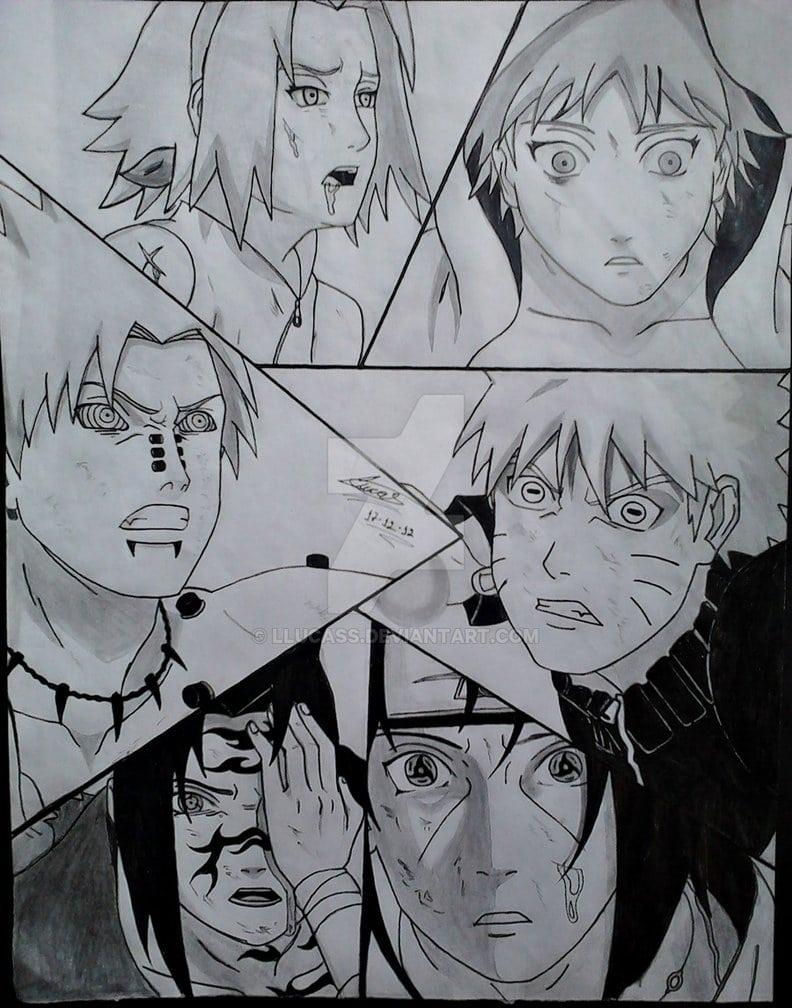 Desenho Naruto Shippuuden