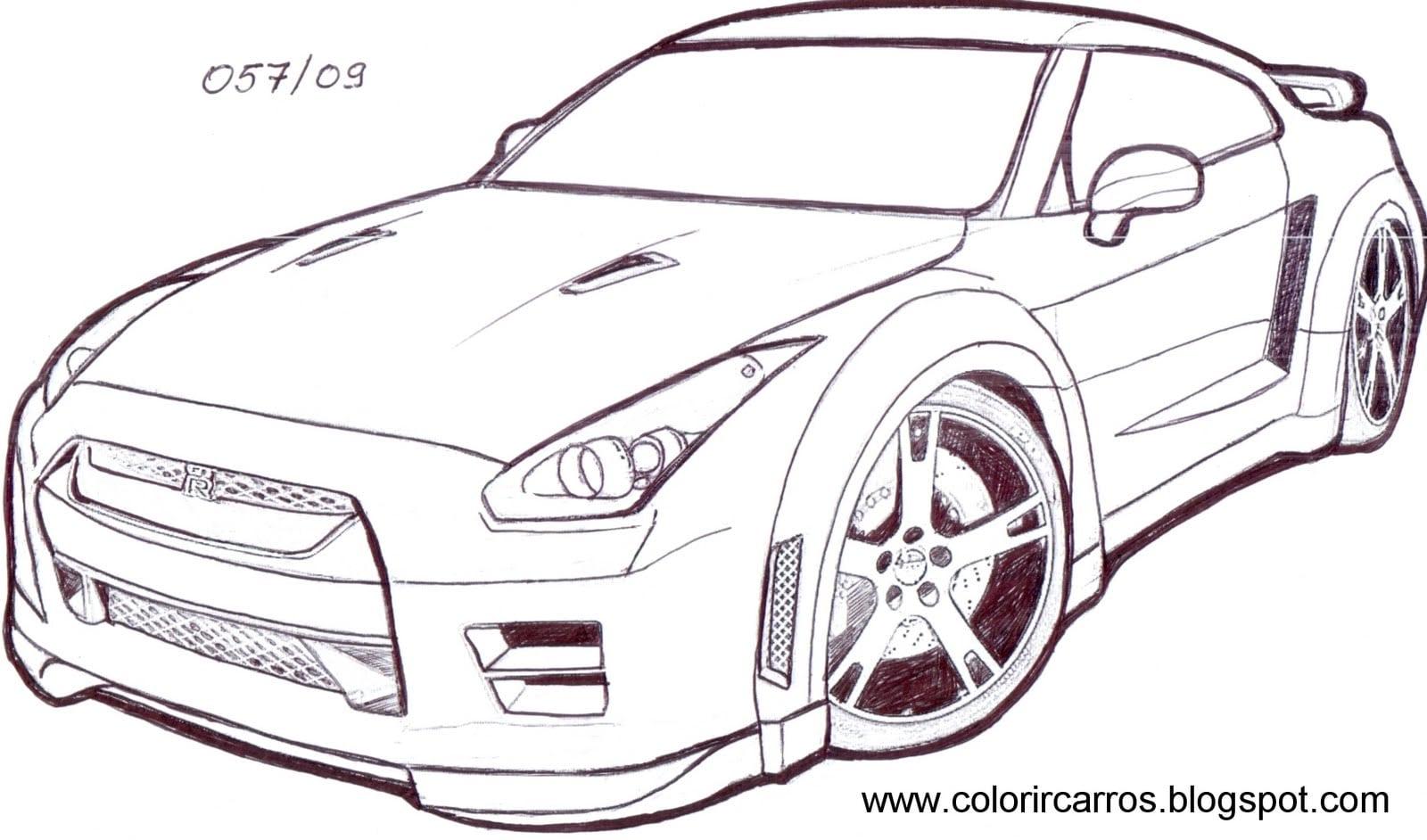 Camaro Para Colorir – Pampekids Net
