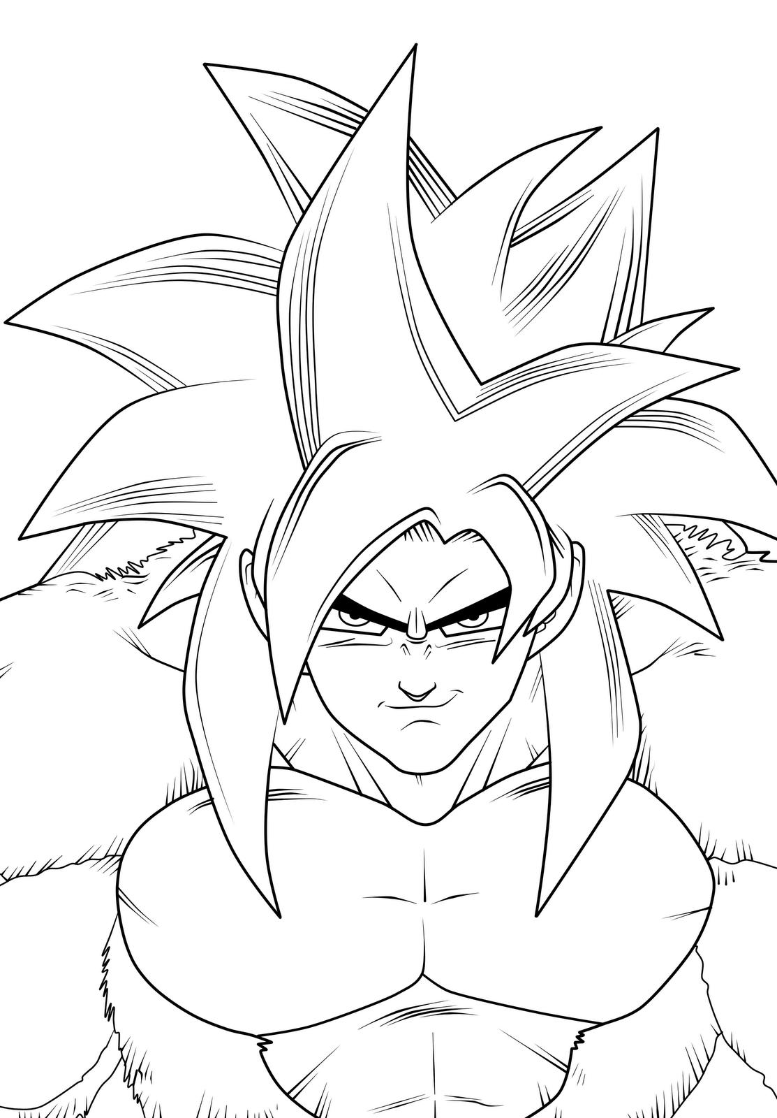 Desenhos De Dragon Ball Dragonball Para Colorir
