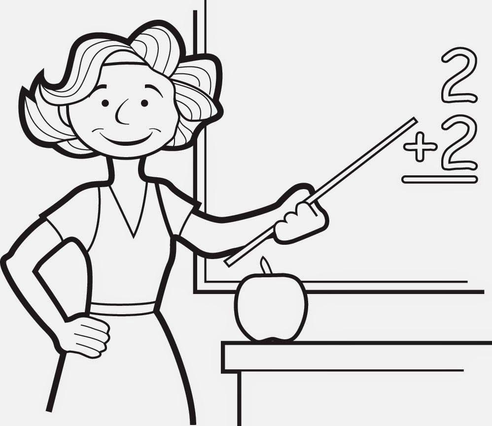 Desenhos Dia Do Professor Para Colorir E Imprimir