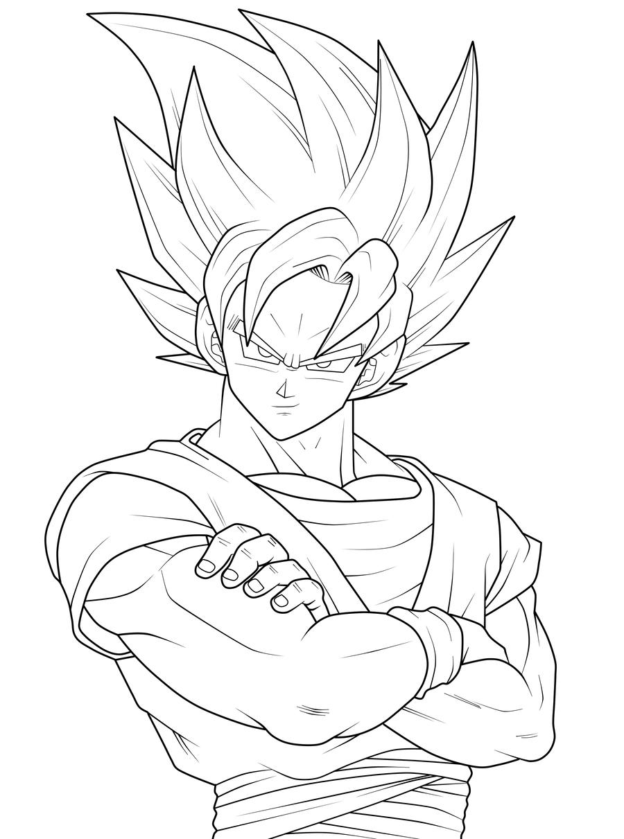Desenho Dragon Ball Z