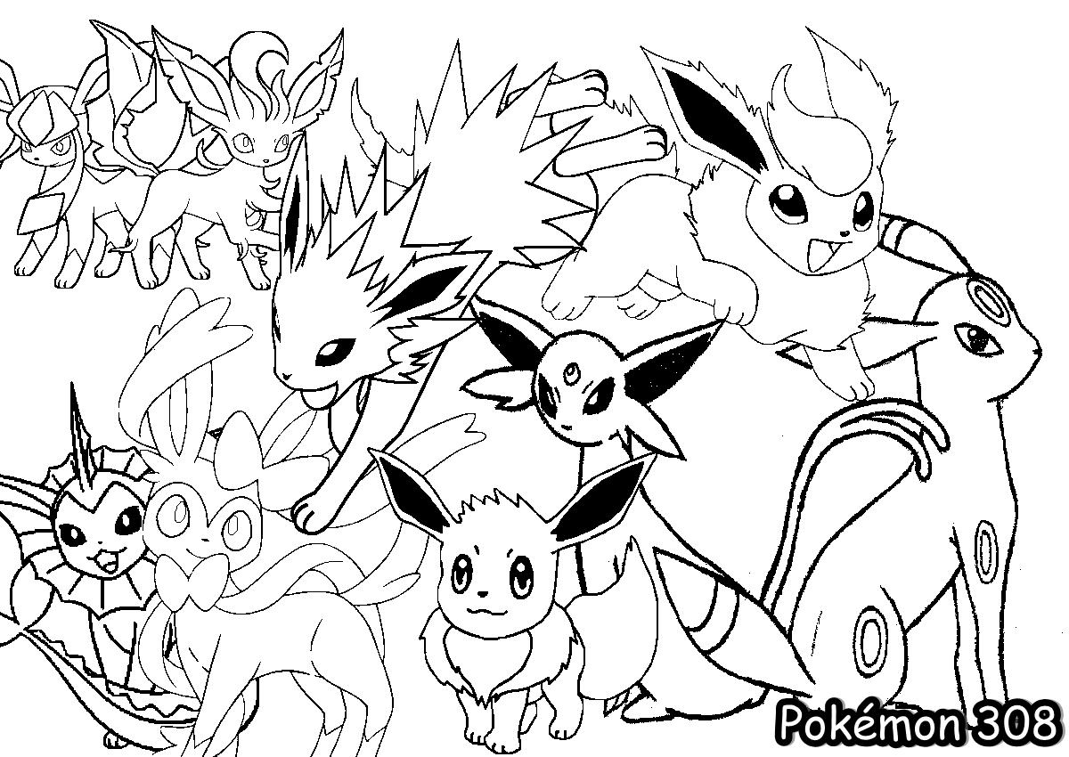 Desenho Para Colorir Pokemon