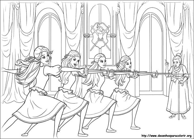 Desenhos Barbe    Barbie Rapunzel Online Desenho Animado Portugues