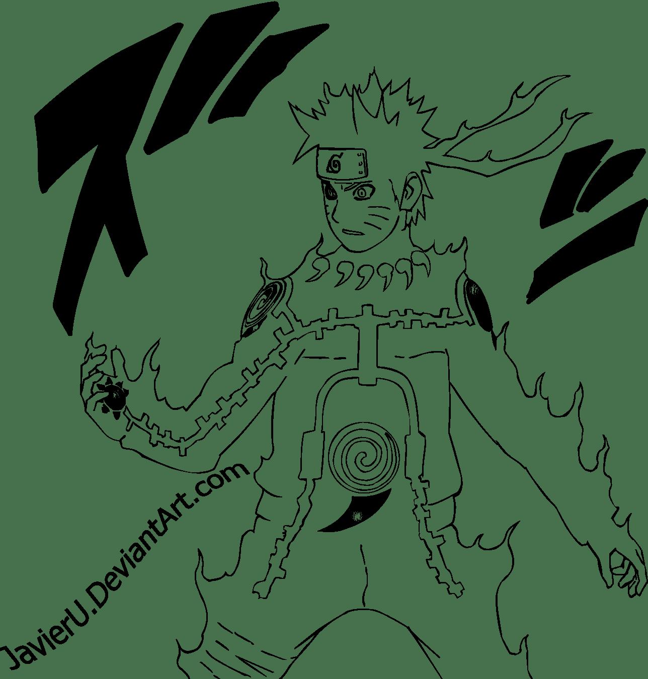 Desenhos Do Naruto Shippuden Para Colorir
