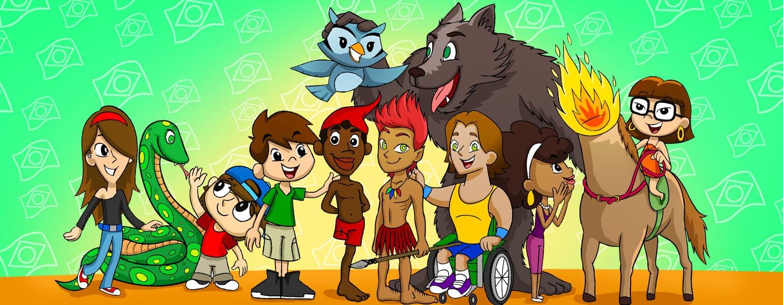 Personagens Do Folclore Brasileiro