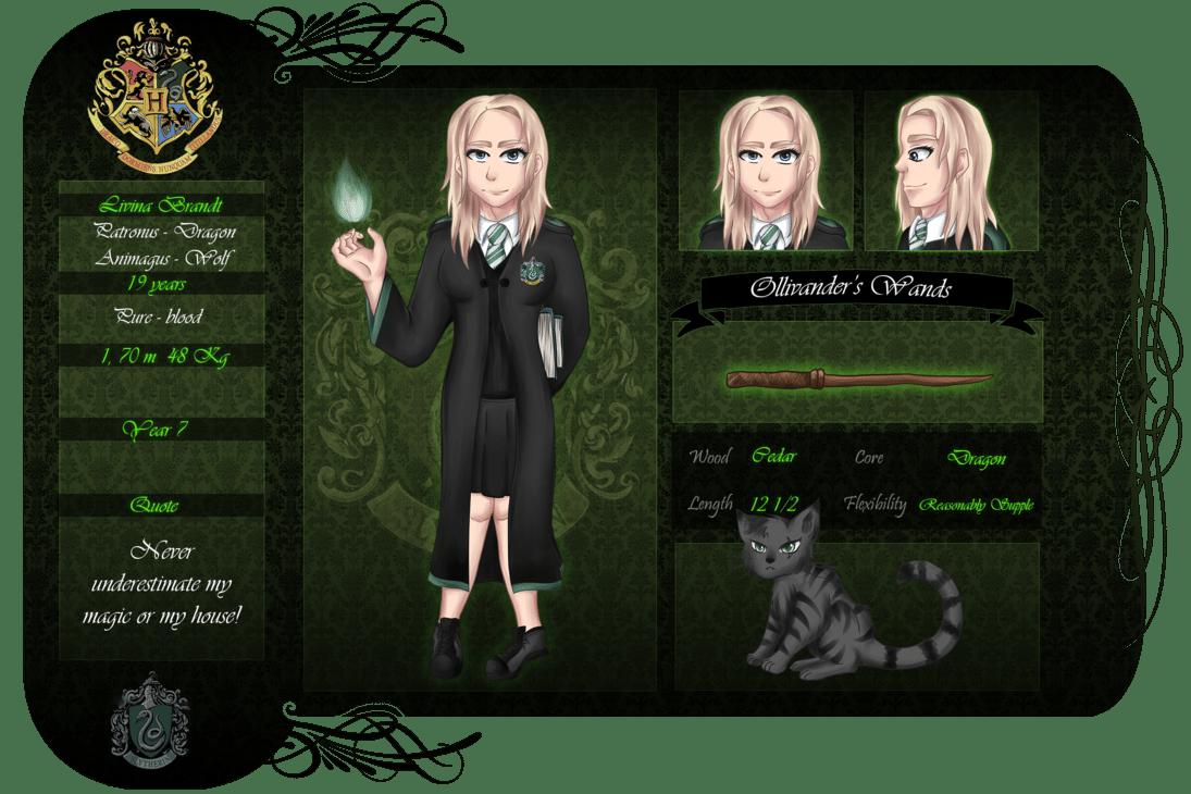 Harry Potter Oc Livina By Tana