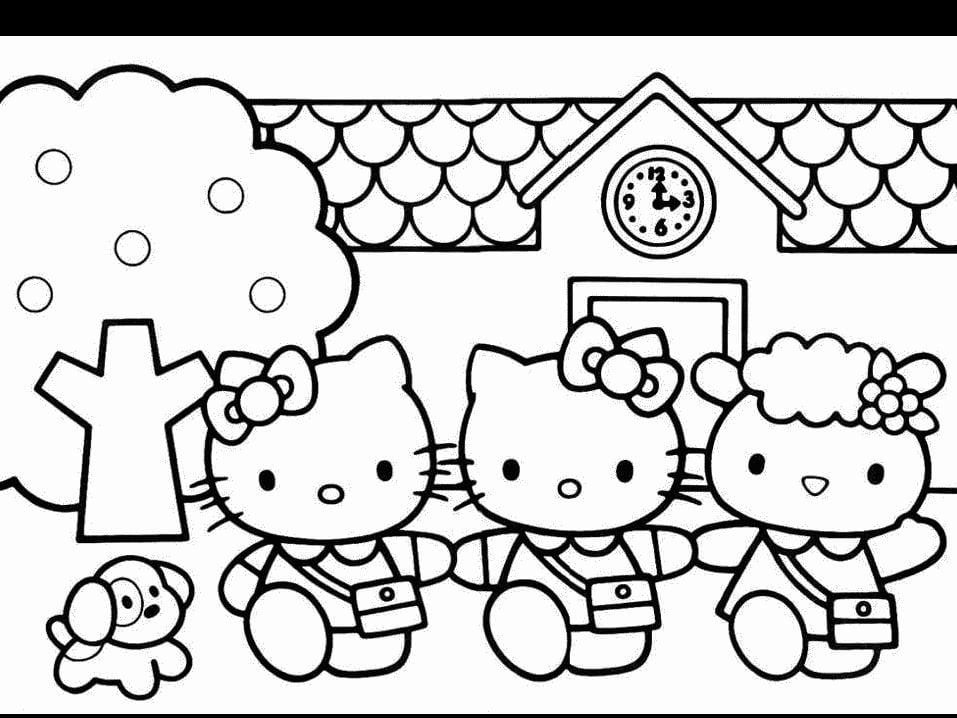 Desenhos Da Hello Kitty Para Imprimir