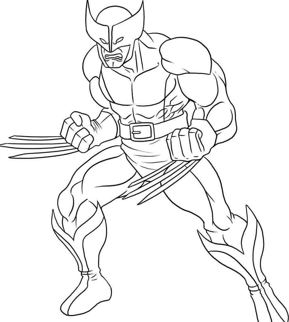 Desenho Para Colorir Homem De Ferro – Pampekids Net