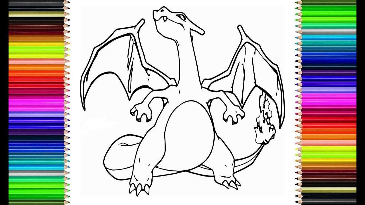 Como Desenhar O Charizard