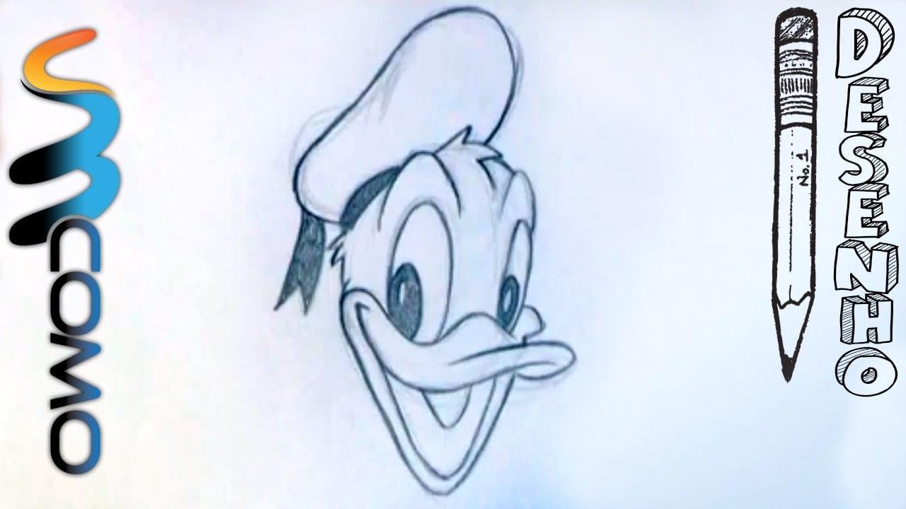 Desenhando Pato Donald Passo A Passo