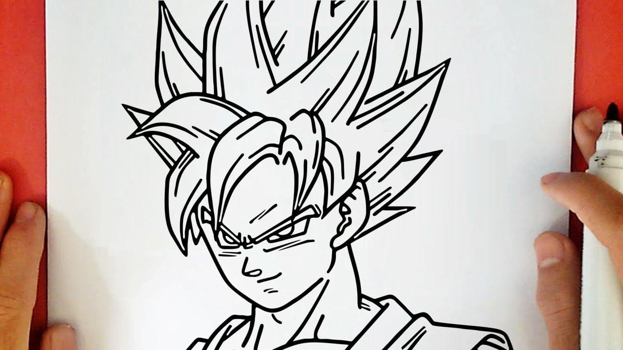 Fotos De Desenhos Do Goku