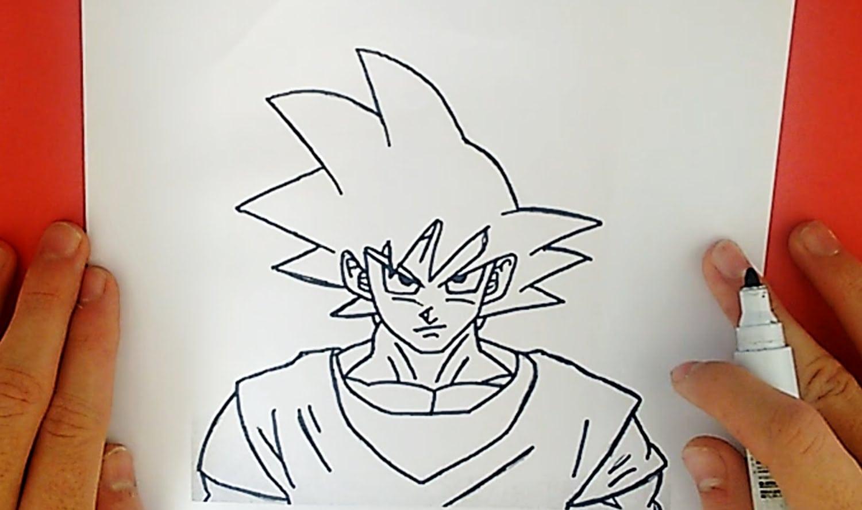 Como Desenhar O Goku De Dragon Ball Z (personagem)