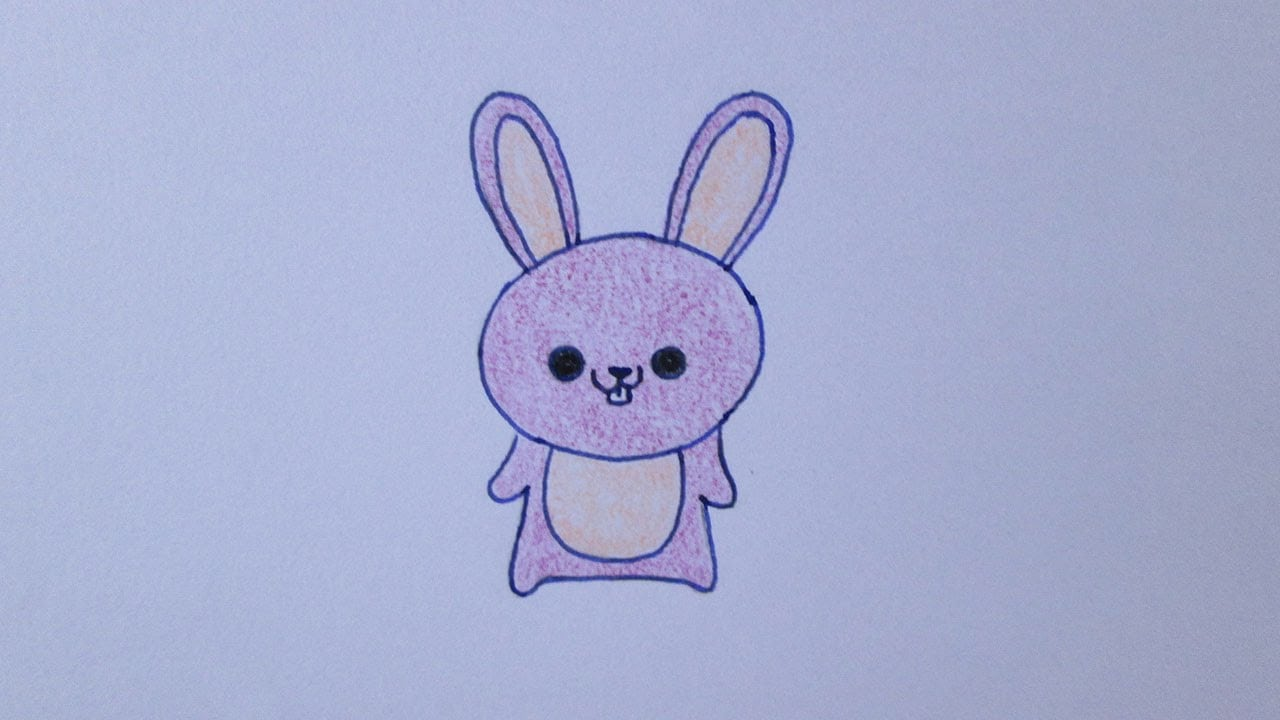 Como Desenhar Um Coelhinho Muito Fofo