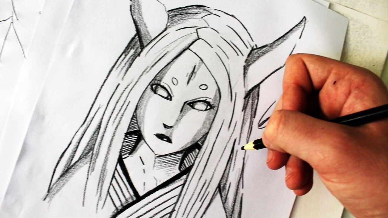 Como Desenhar Kaguya Ōtsutsuki [naruto Shippuden]