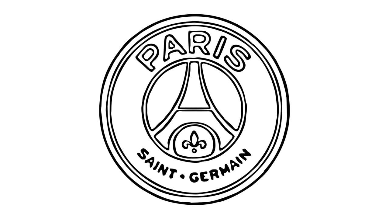 Como Desenhar O Escudo Do Psg (paris Saint