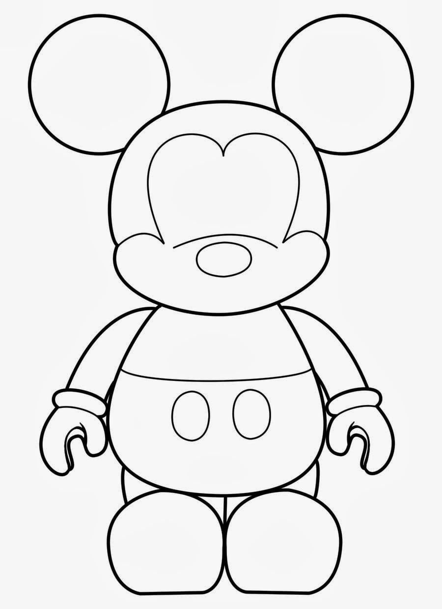 Molde De Mickey