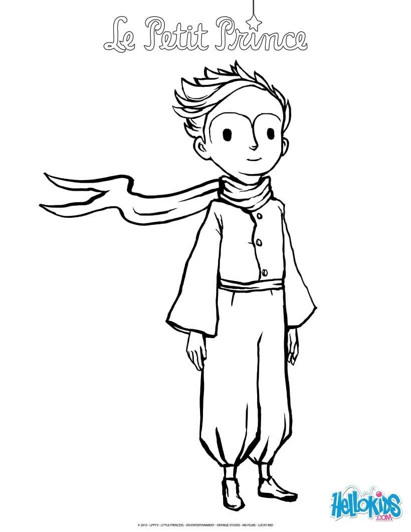 Desenhos Para Colorir De O Pequeno Príncipe