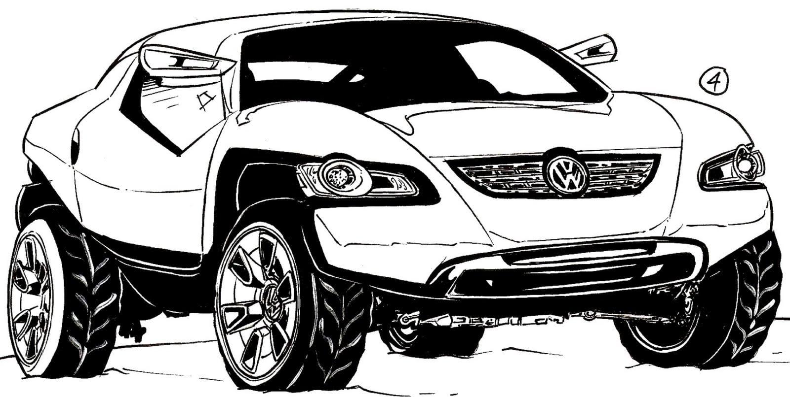 Desenho Para Colorir Hot Wheels