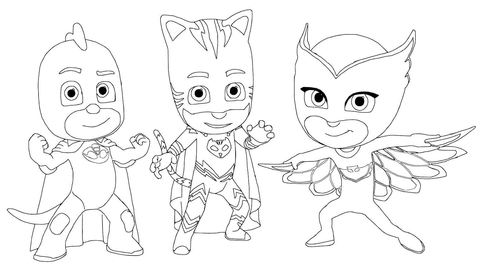 Desenhos De Super Herois Para Imprimir E Colorir