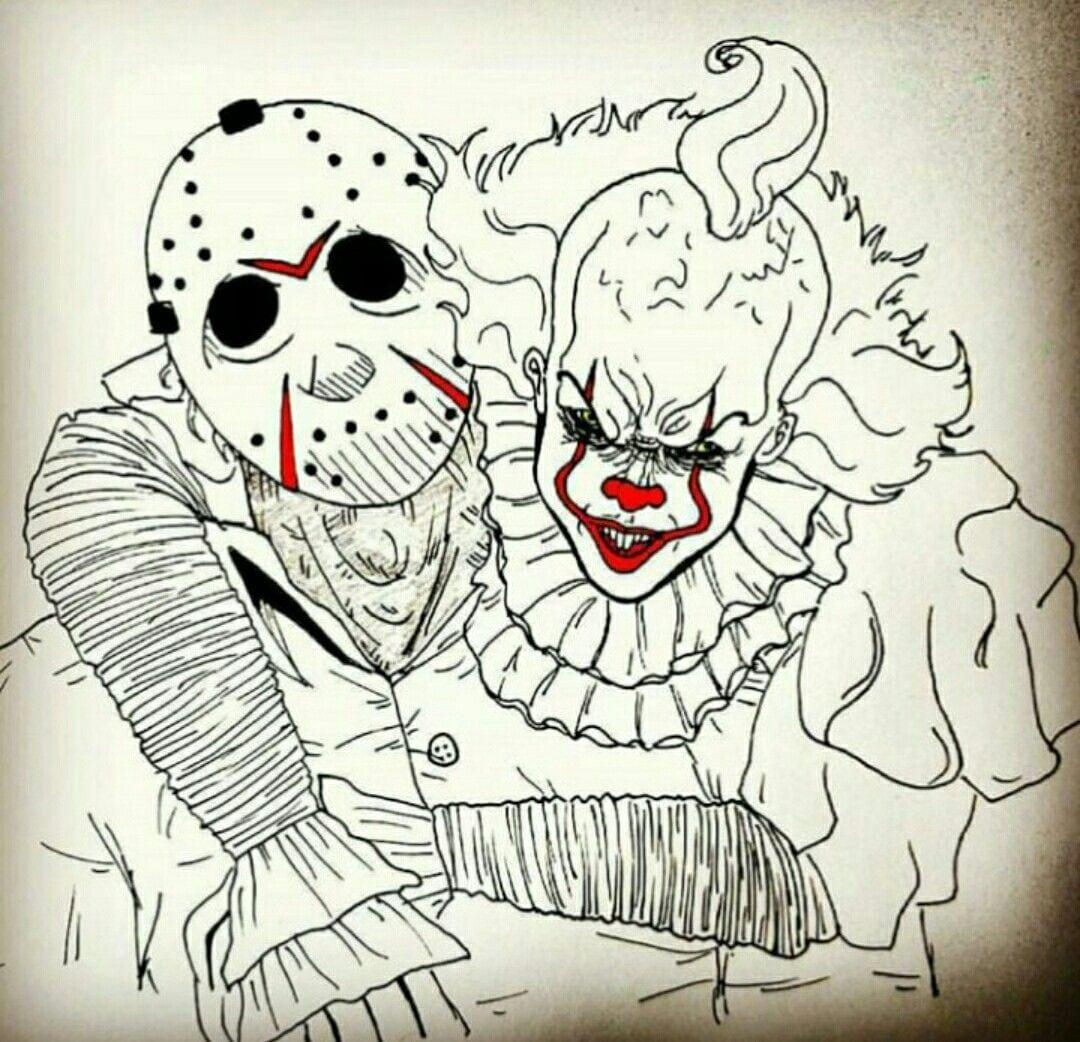 Imagens De Terror Para Desenhar