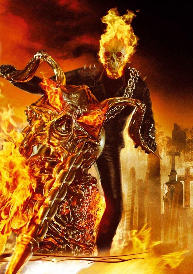 Ghost Rider Marvel Galeria