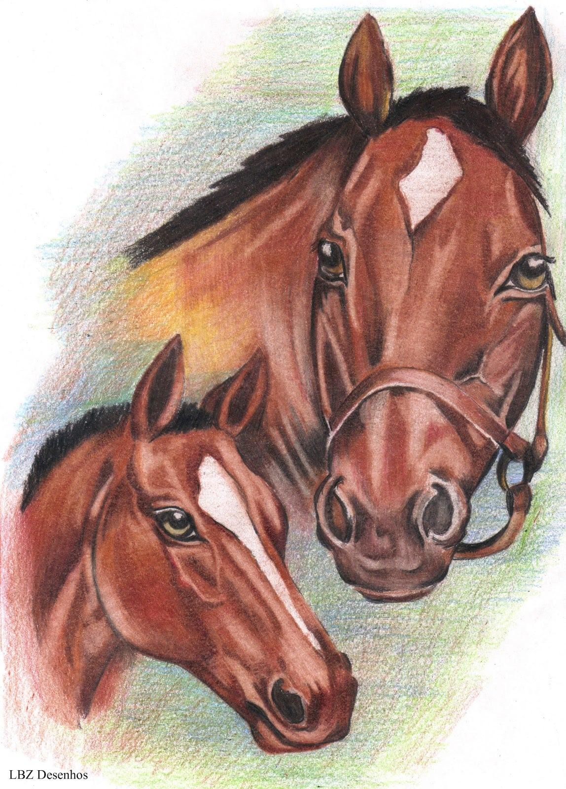 Cavalos Notícias   VÍdeo  Desenhos De Cavalos Que Parecem Ser Reais