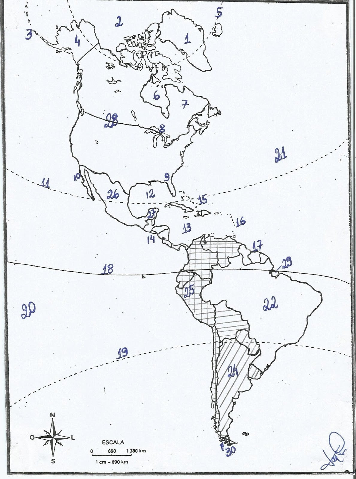 Gabarito (mapa De Julho)