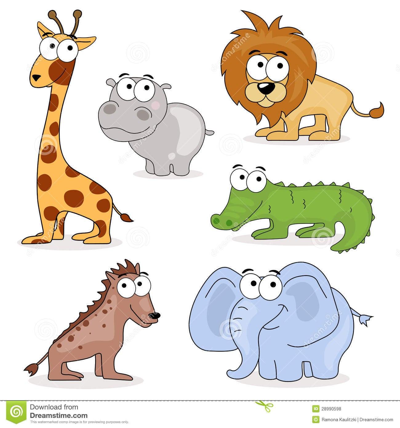 Desenhos Coloridos De Animais