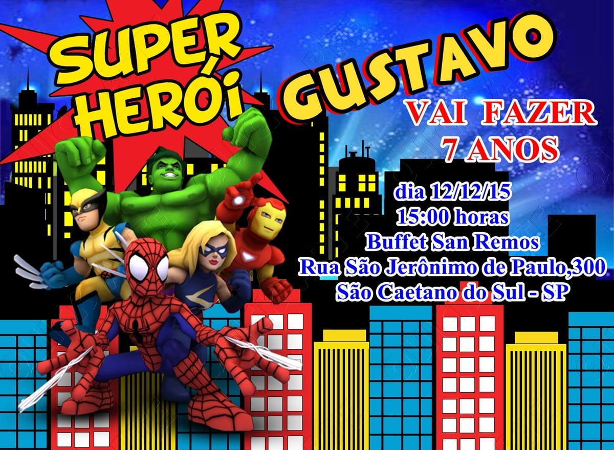 Super Herois Para Imprimir