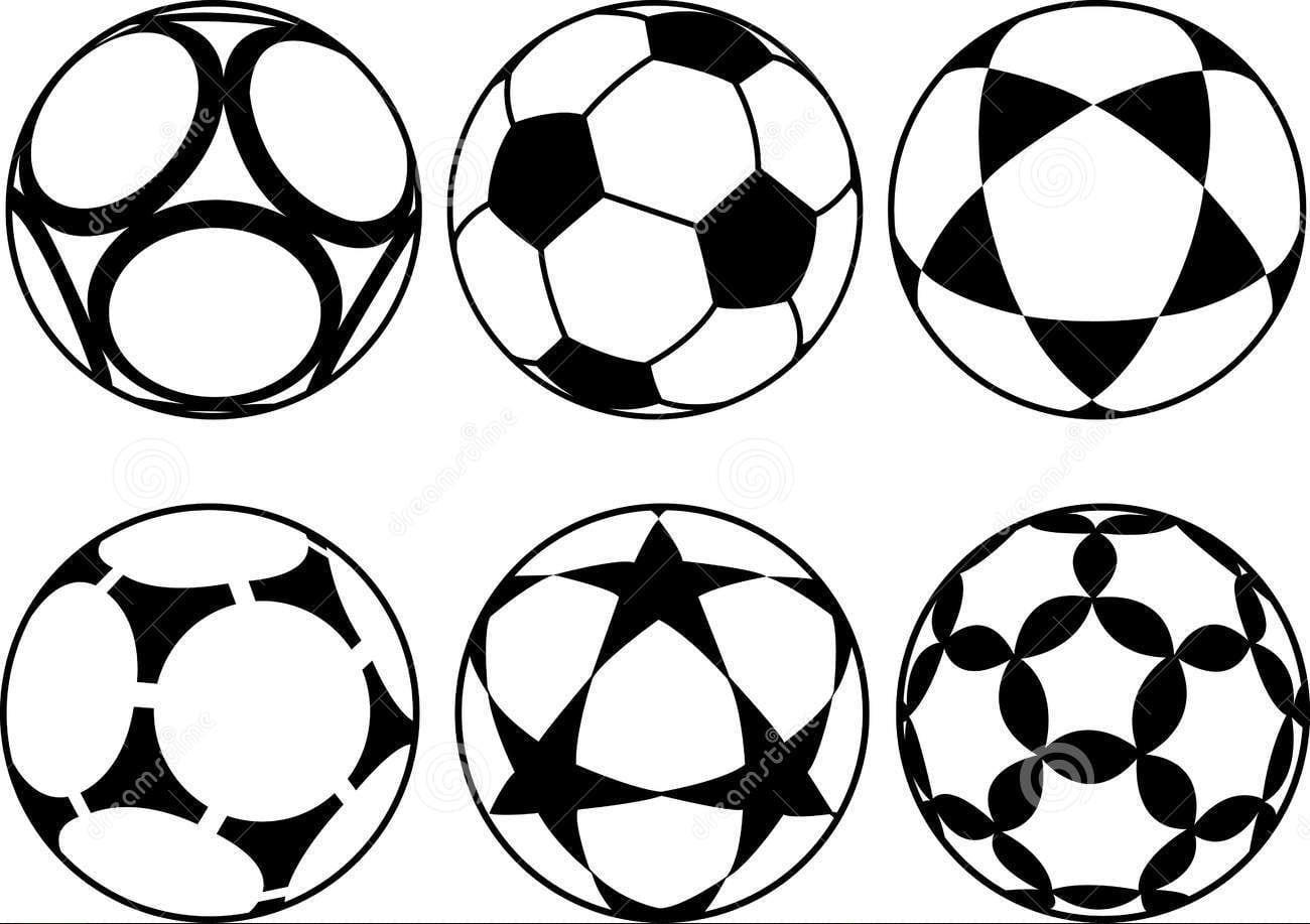 Figura De Bola Para Colorir