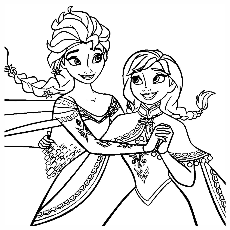 desenho frozen colorir