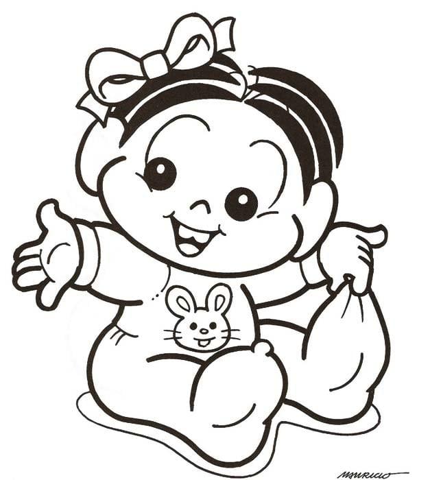 Desenhos De Bebês Para Colorir