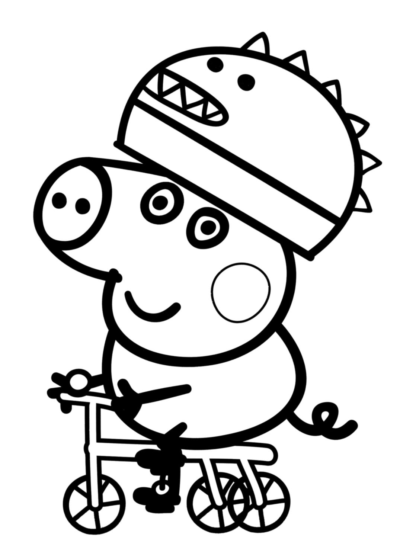 Figura Da Peppa Para Colorir