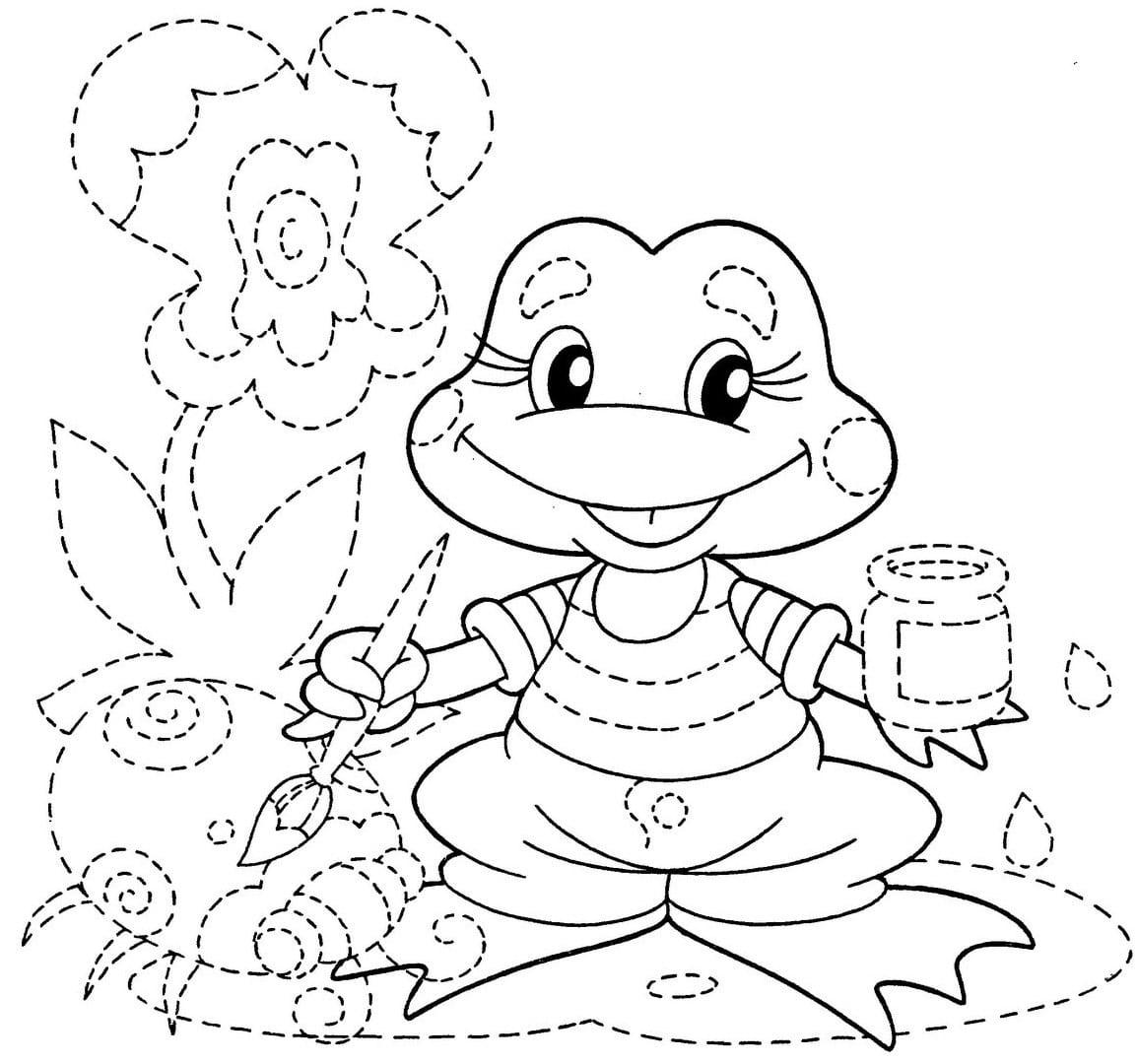 Desenhos Pontilhados Para Imprimir E Colorir – Pampekids Net