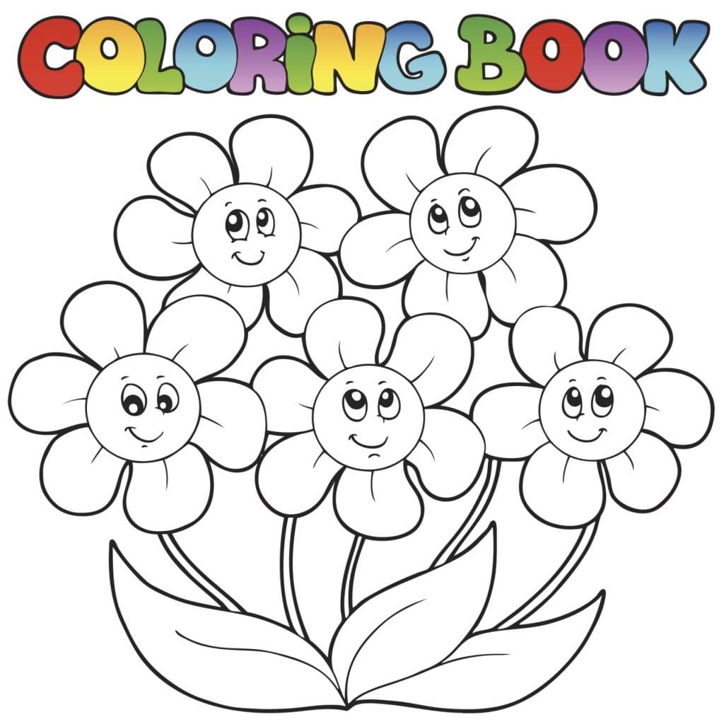 Dibujos De Flores Para Colorear E Imprimir Imagui