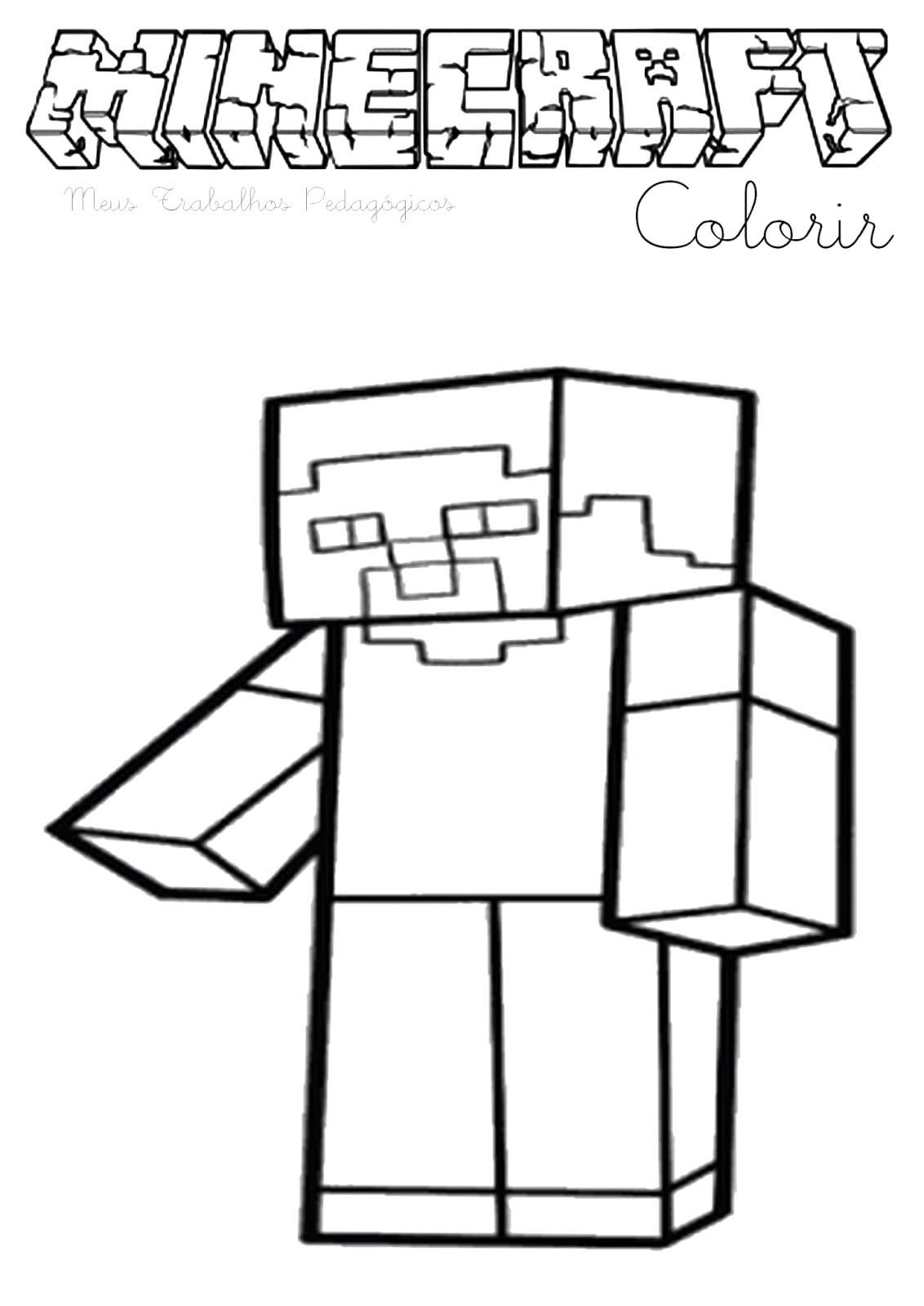 Meus Trabalhos Pedagógicos ®  Minecraft