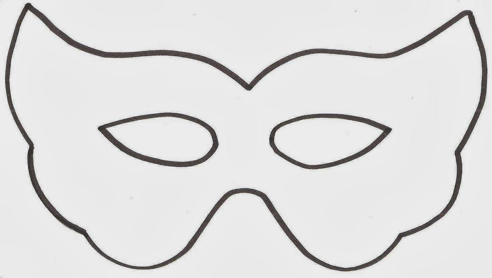 Máscaras Para Imprimir Y Colorear   Máscaras Para Imprimir E