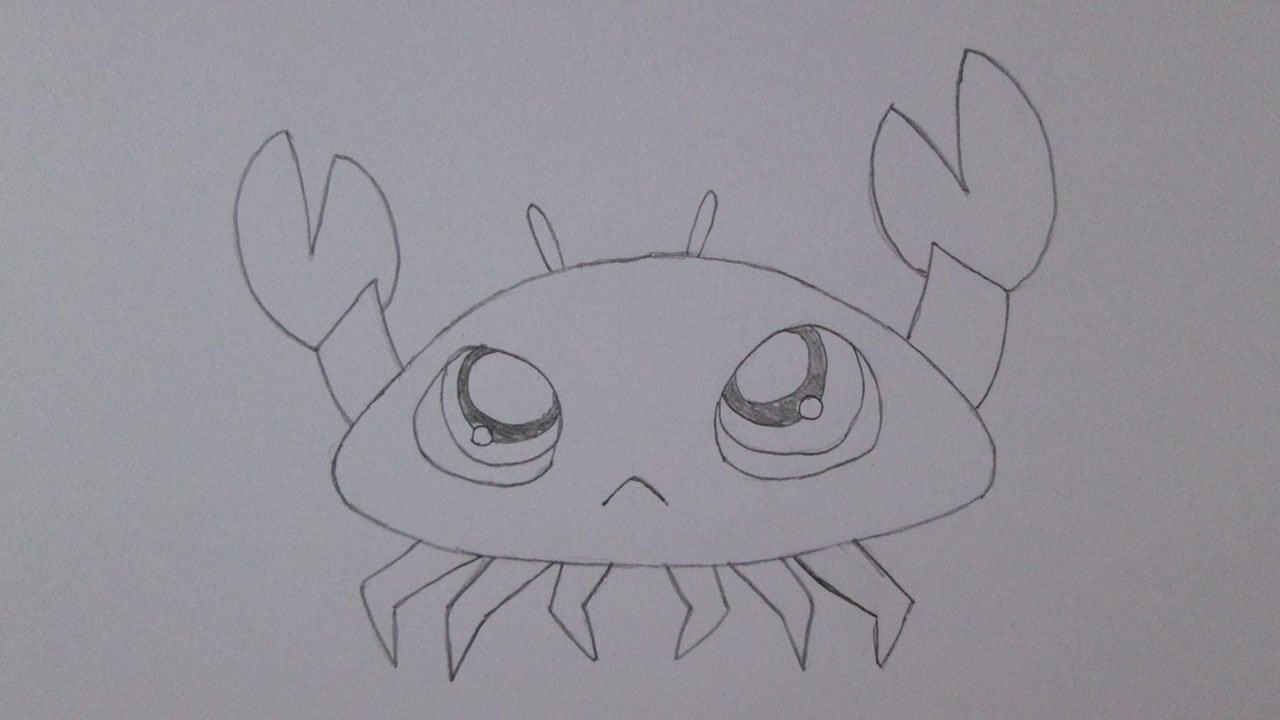 Como Desenhar Um Caranguejo