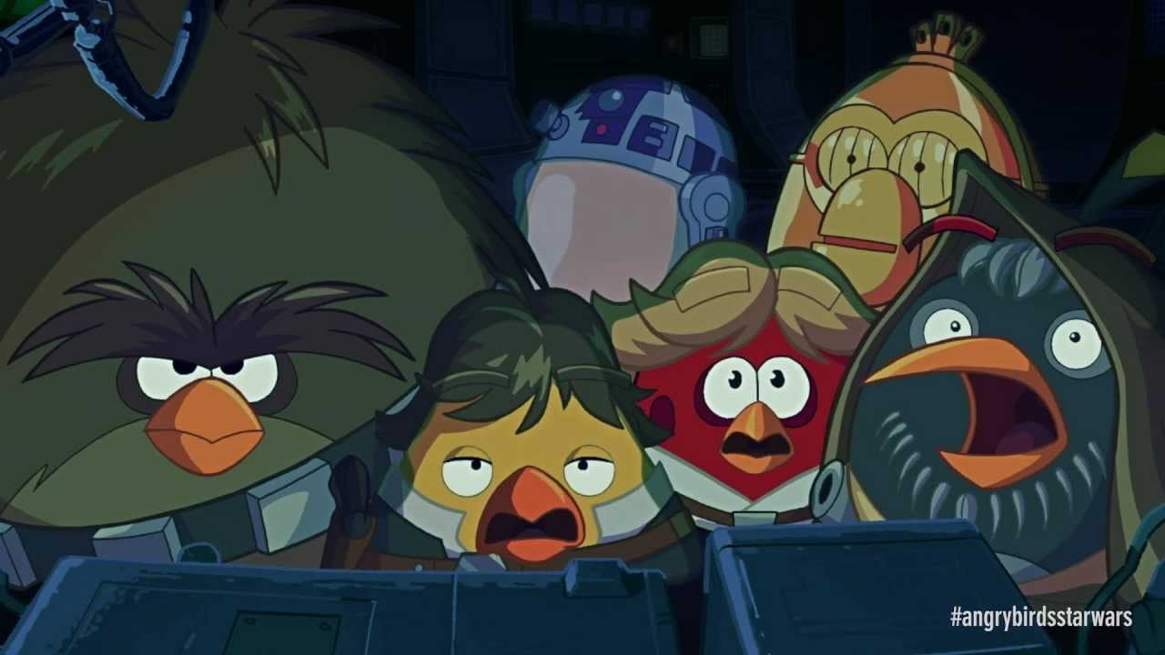 Angry Birds Star Wars Cinematic Trailer