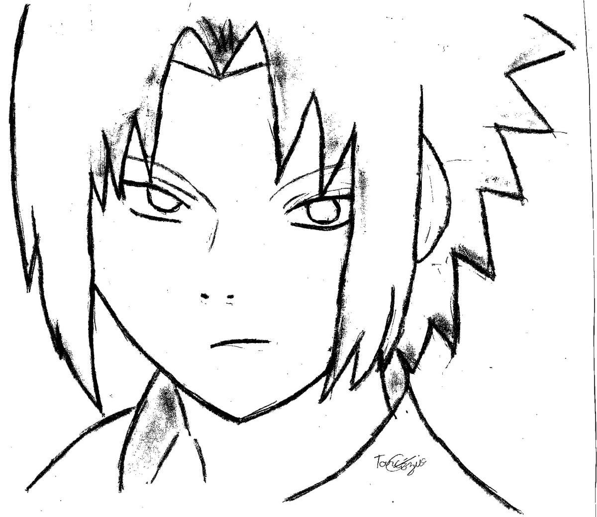 Imagens Naruto Para Desenhar