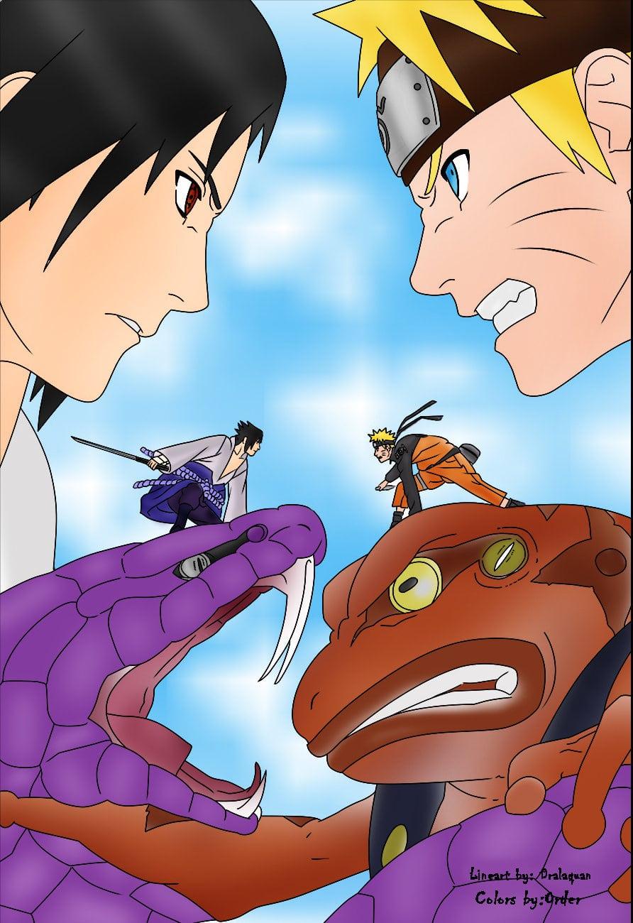 Naruto Vs Sasuke By Orderuchiha On Deviantart