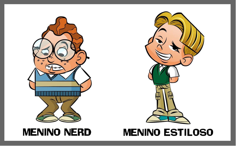 Bruno Tedesco  Criação De Personagem   Bullying Na Escola