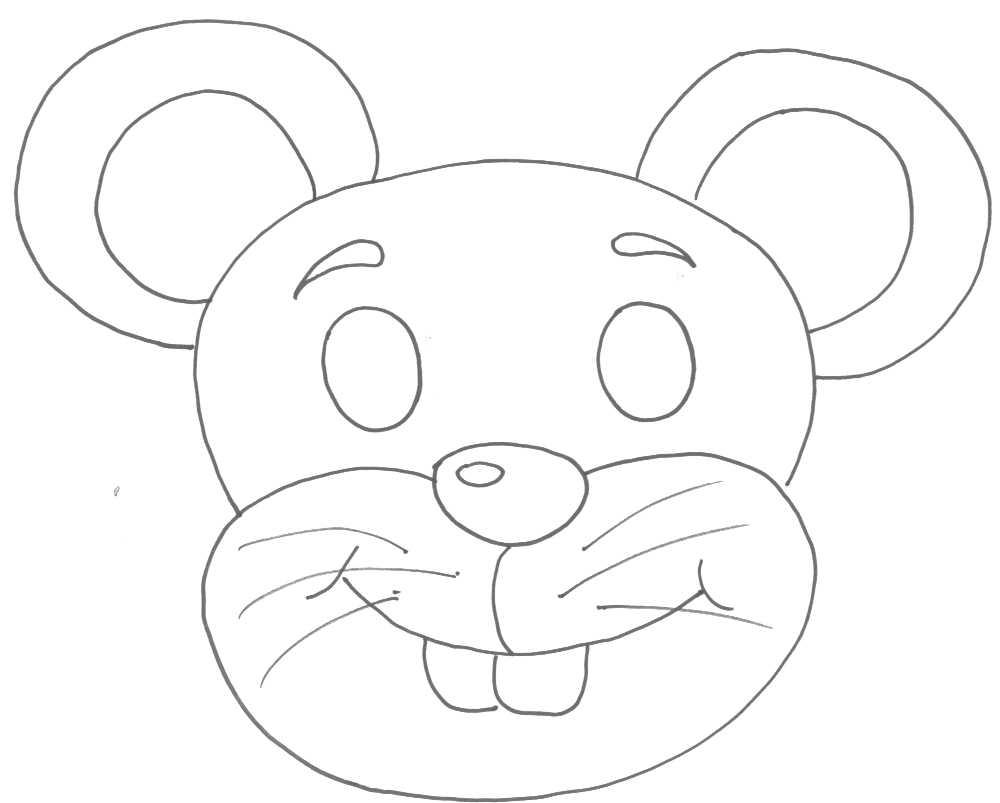 Mascaras De Animais    Encinando Crianças