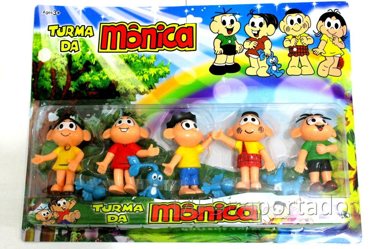 Turma Da Mônica Miniatura Bonecos Cebolinha Brinquedo Barato