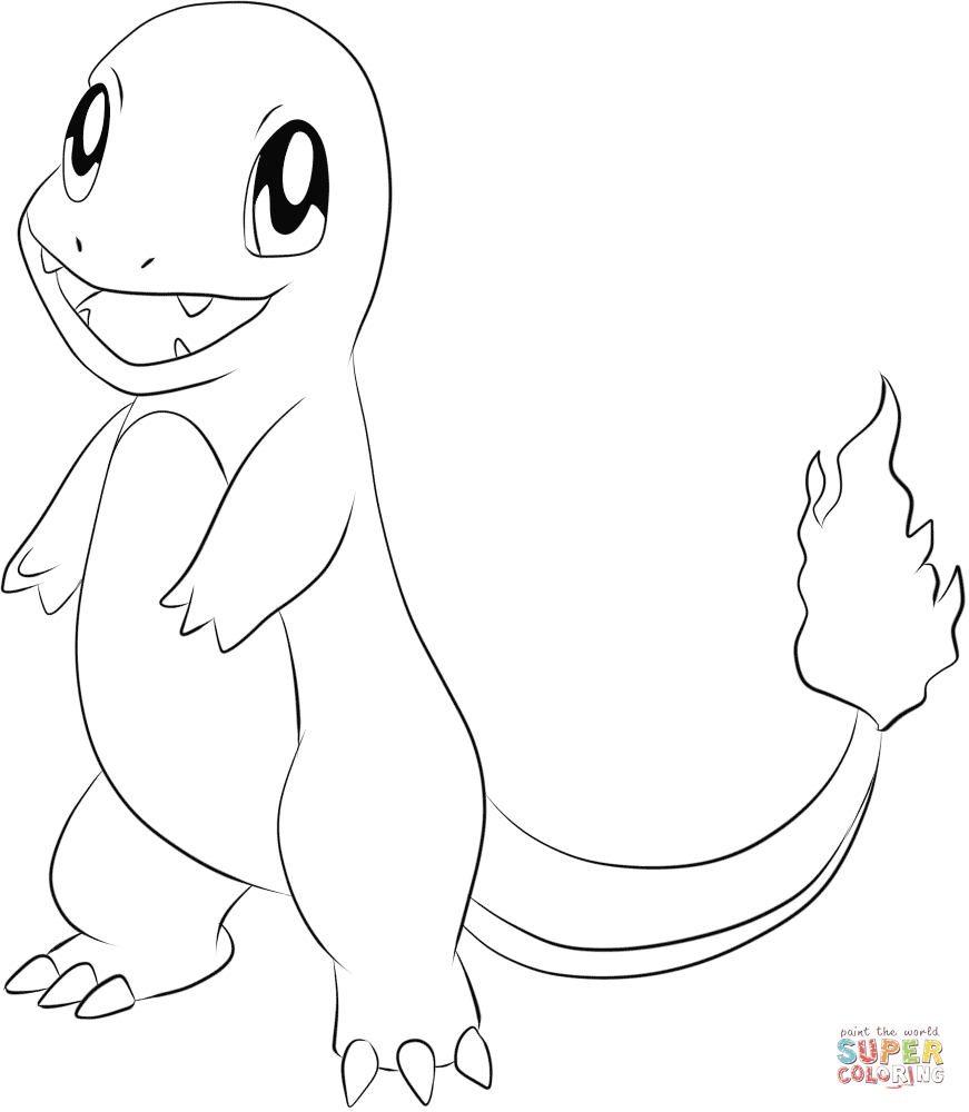 Generation I Pokemon Coloring Pages