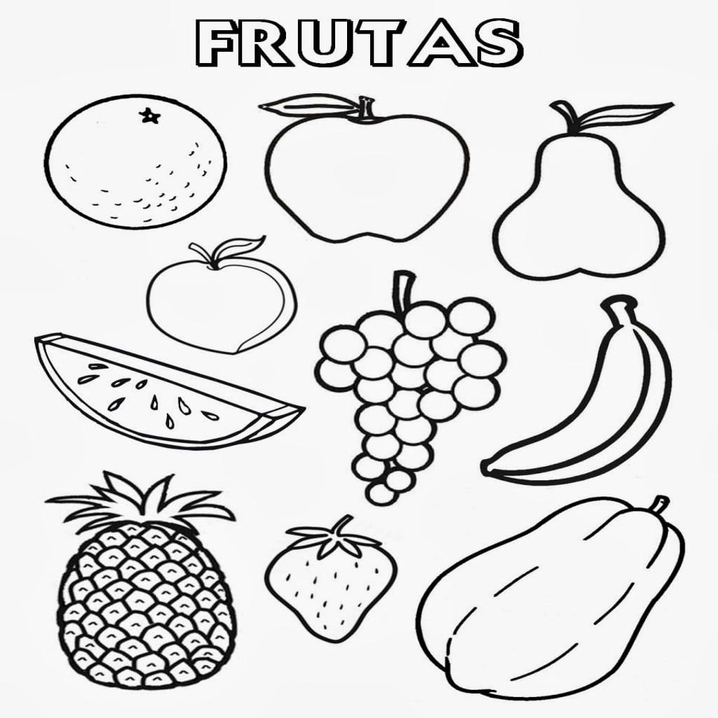 Figuras De Alimentos Para Imprimir