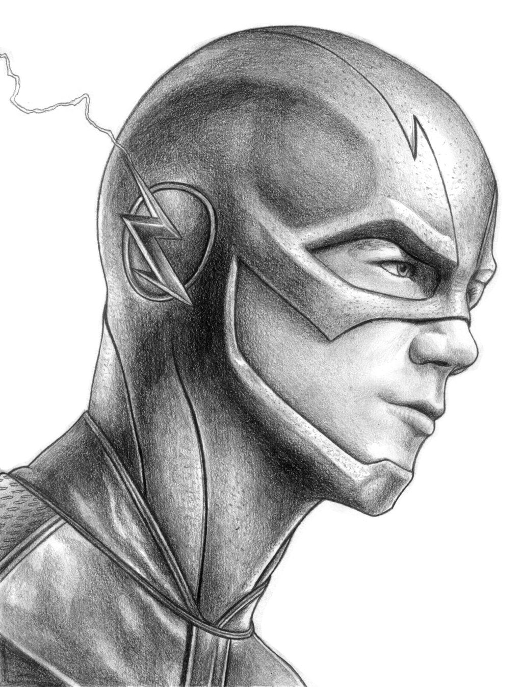 Sketch Sunday  The Flash Created By Iain Reed
