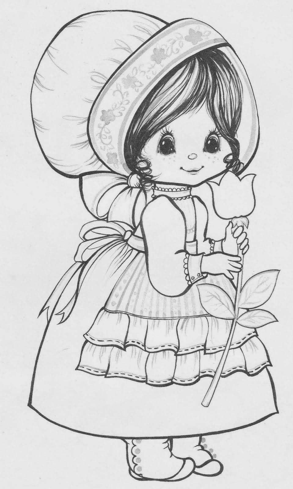 Desenhos Fofíssimos De Crianças Para Colorir!