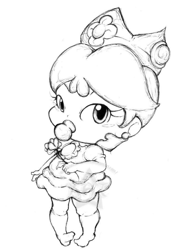 Imagenes De Princesas Bebes Para Pintar E Imprimir