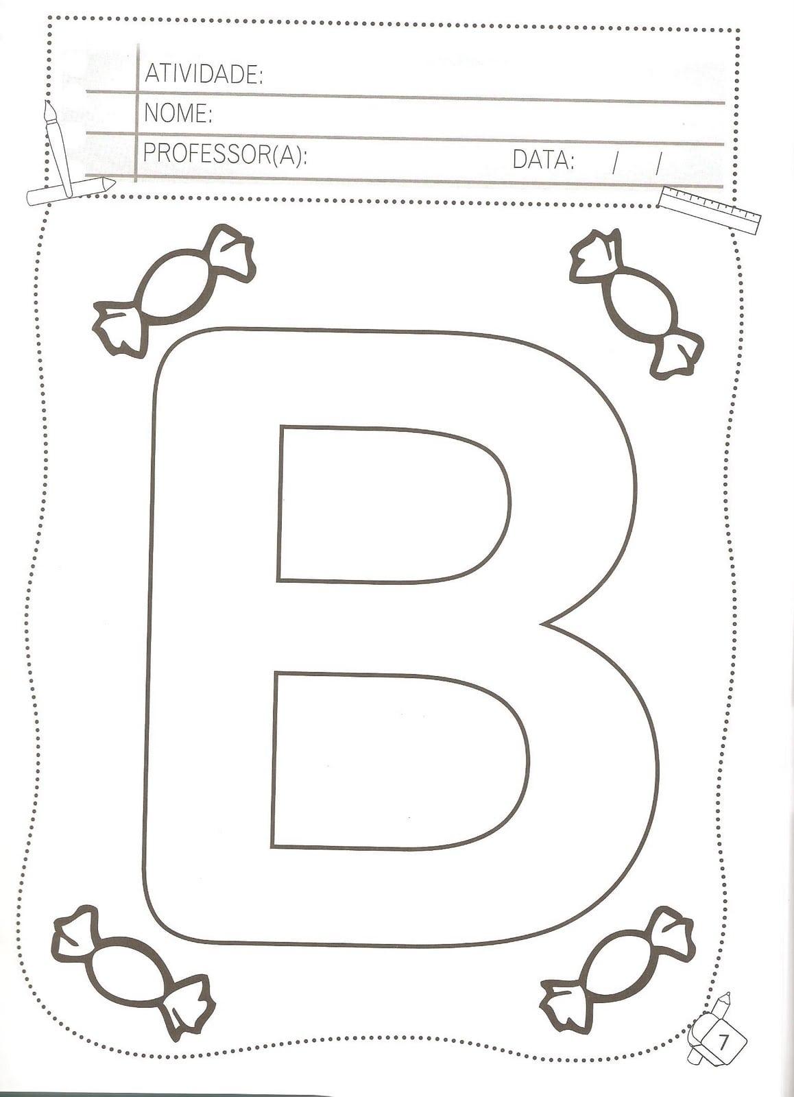 Alfabeto Vazado Para Colorir – Pampekids Net